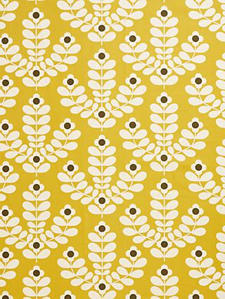 Orla Kiely Juniper Stem Made to Measure Curtains or Roman Blind, Citrine