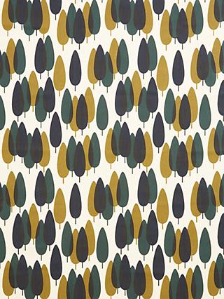 Orla Kiely Alpine Forest Made to Measure Curtains or Roman Blind, Teal