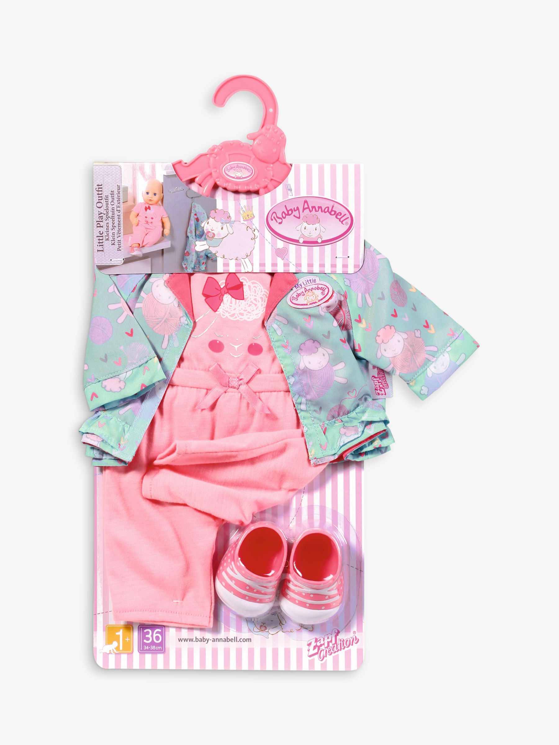 Zapf Zapf My First Baby Annabell Little Play Outfit