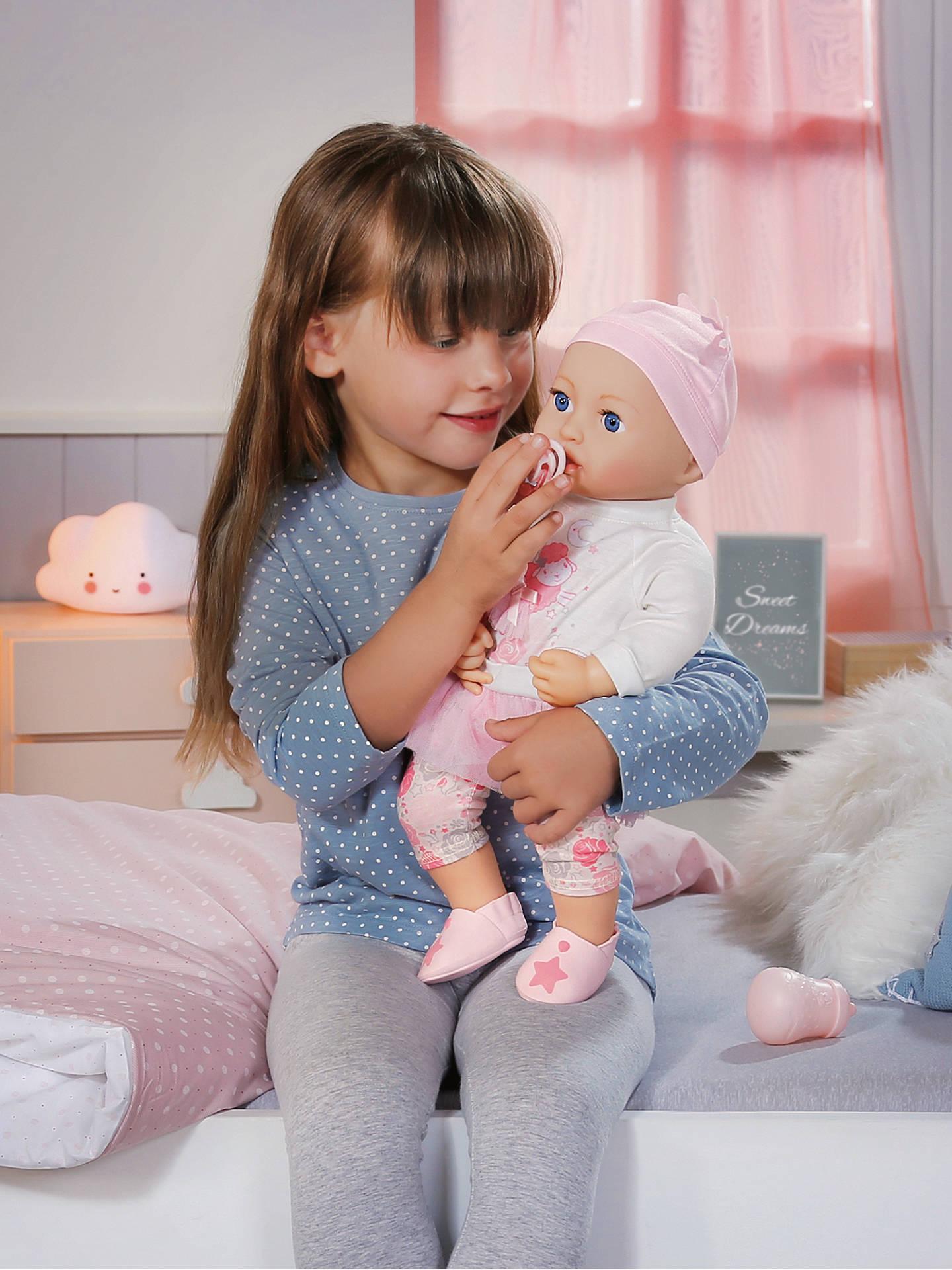 Zapf Baby Annabell Sweet Dreams Mia Doll at John Lewis ...