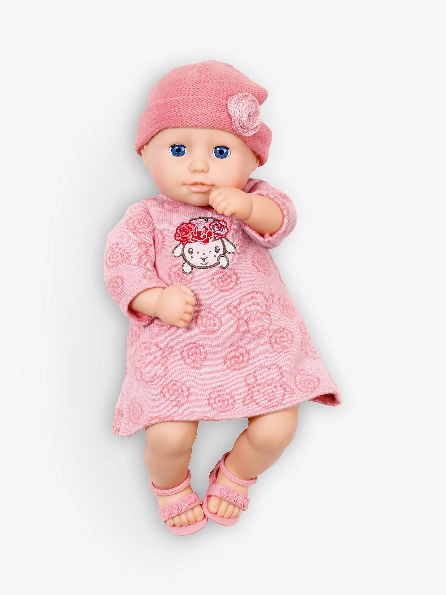 Knitted Dolls Clothes For Baby Annabell - Baby Cloths