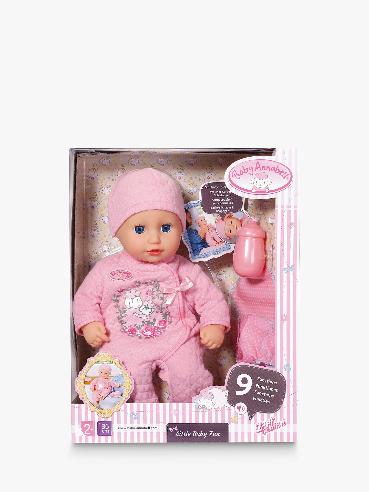 Zapf My First Baby Annabell Little Baby Fun Doll at John ...