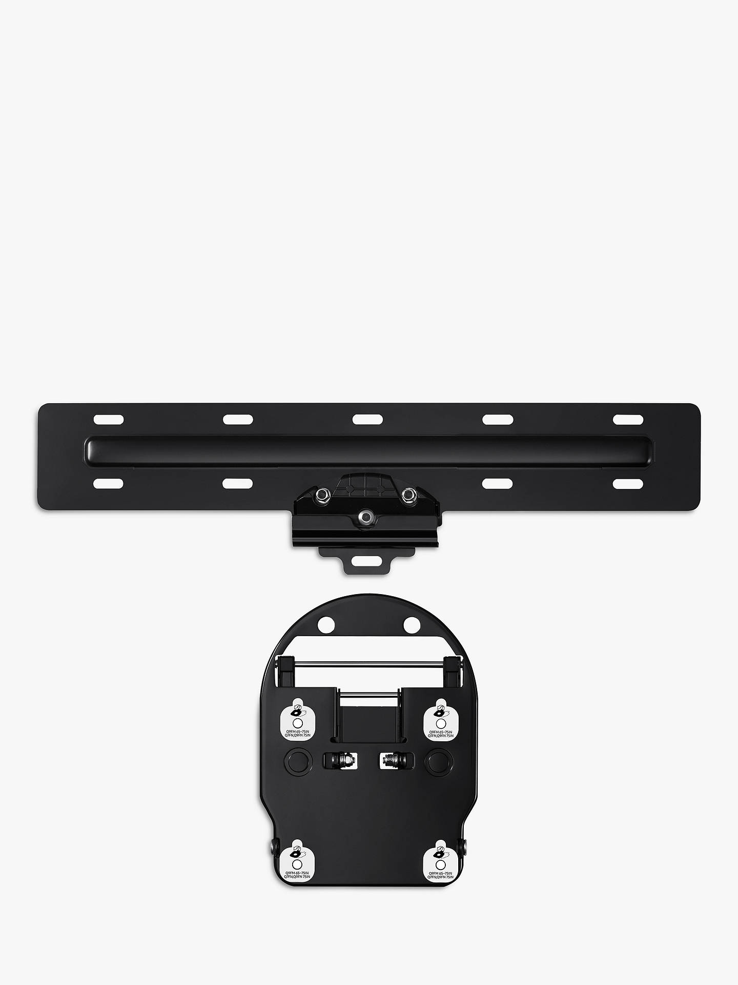 "Buy Samsung No Gap Wall Mount for Selected QLED TVs 43""-65"" (2020 Q95T & The Frame / 2019 Q950R, Q90R, Q85R & The Frame TVs) Online at johnlewis.com"