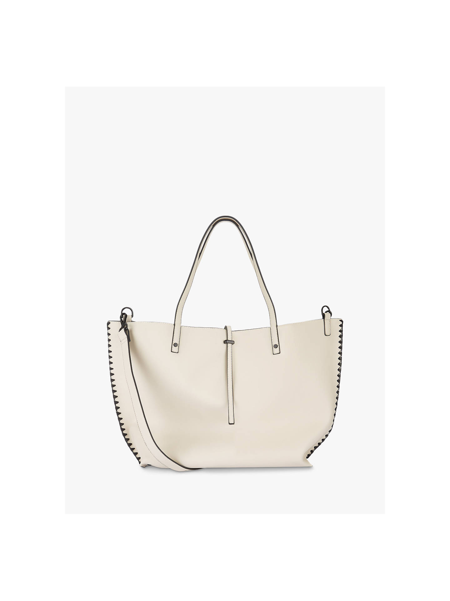 3ba5a46b Buy Mint Velvet Polly Stitched Tote Bag, Off White Online at johnlewis.com  ...