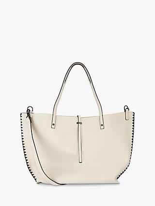 d360be6f3671 Mint Velvet Polly Stitched Tote Bag, Off White