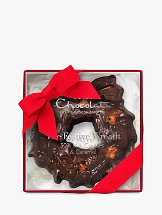 Hotel Chocolat The Festive Wreath - Cookies & Caramel, 100g