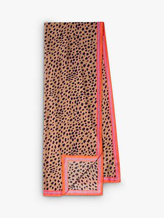 Paul Smith Cheetah Print Scarf, Multi Cheetah