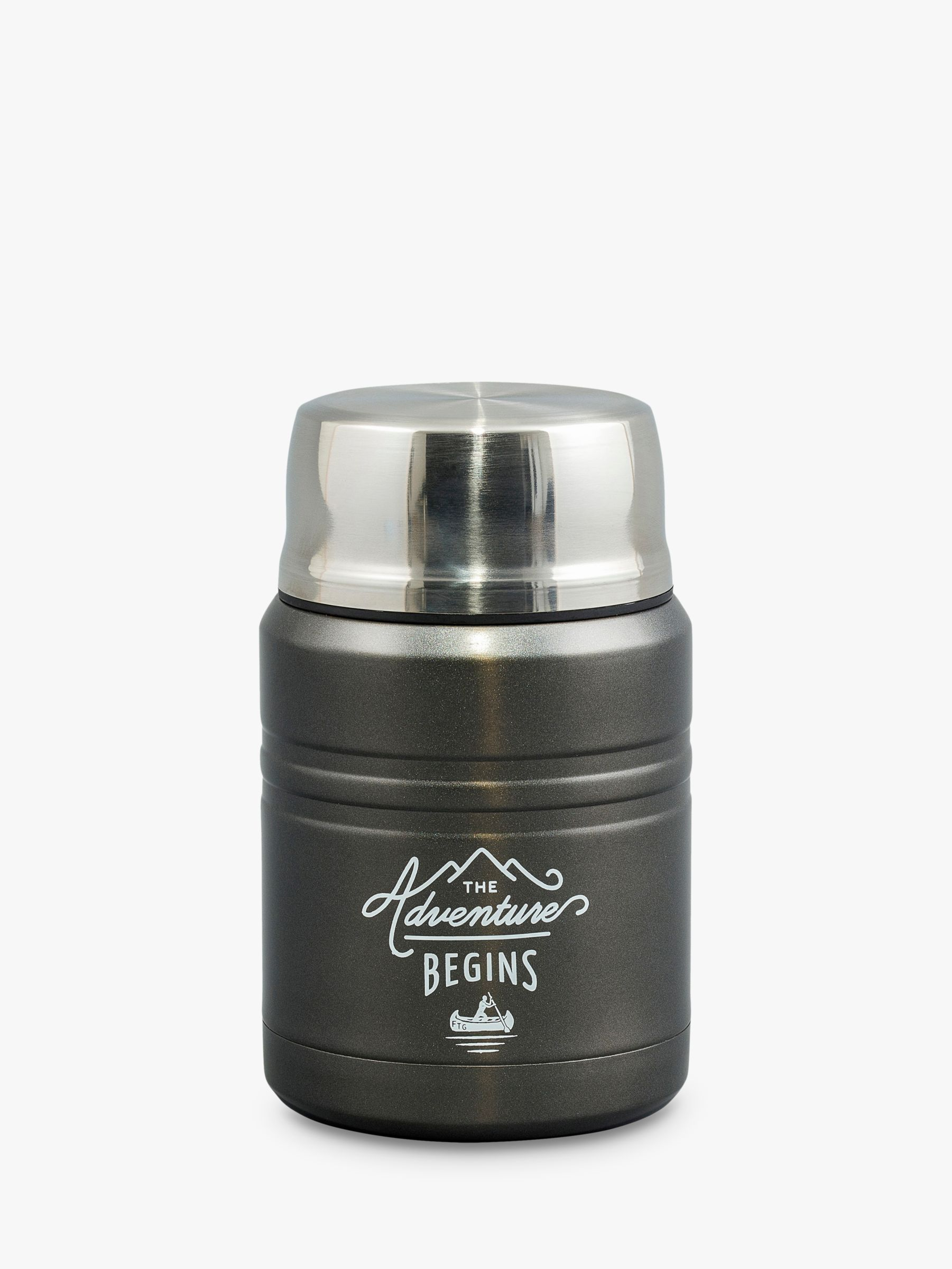 Gentlemen's Hardware Gentlemen's Hardware Adventure Stainless Steel Food Flask, 450ml