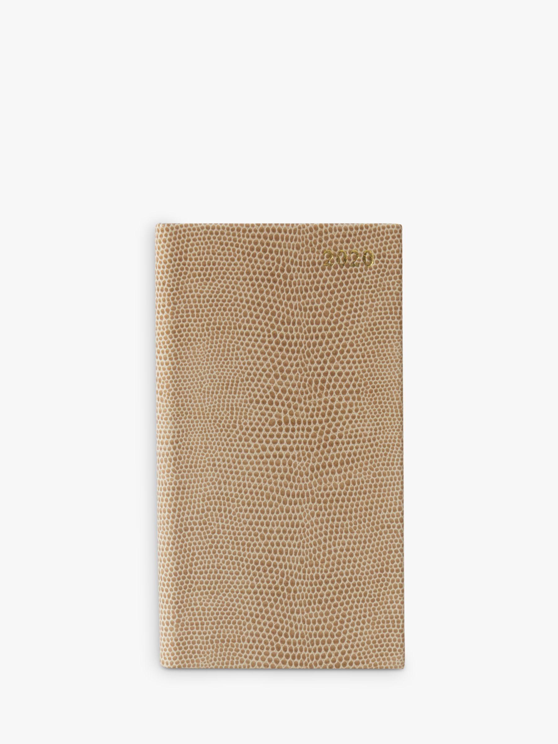 Portico Portico Mock Croc Slim Diary 2020