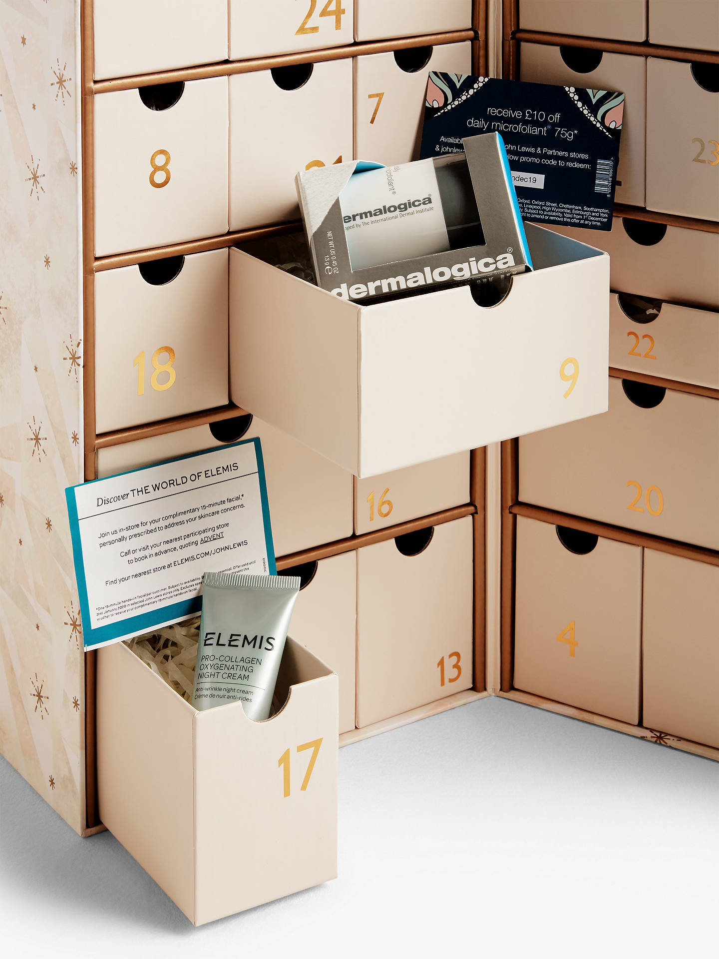 Buy John Lewis & Partners Beauty Advent Calendar Online at johnlewis.com