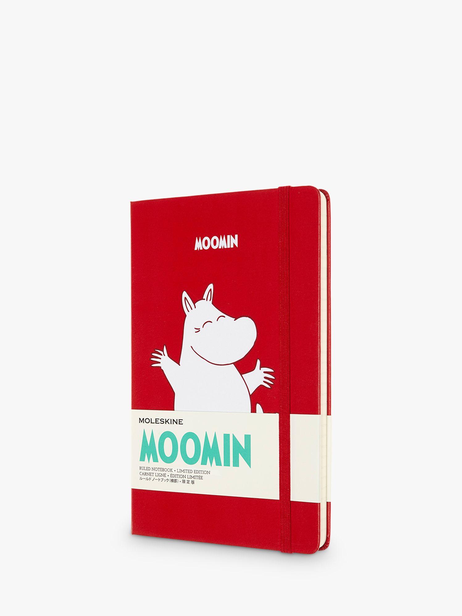 Moleskine Moleskine Large Le Moomin Ruled Notebook, Red