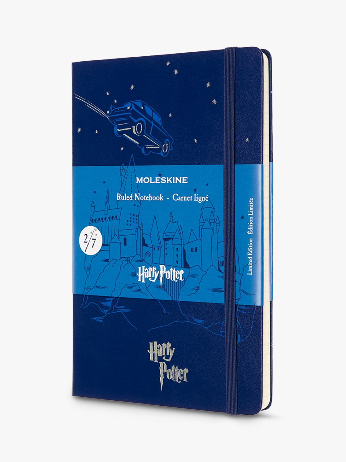 Moleskine Moleskine A5 Limited Edition Flying Car Harry Potter Notebook