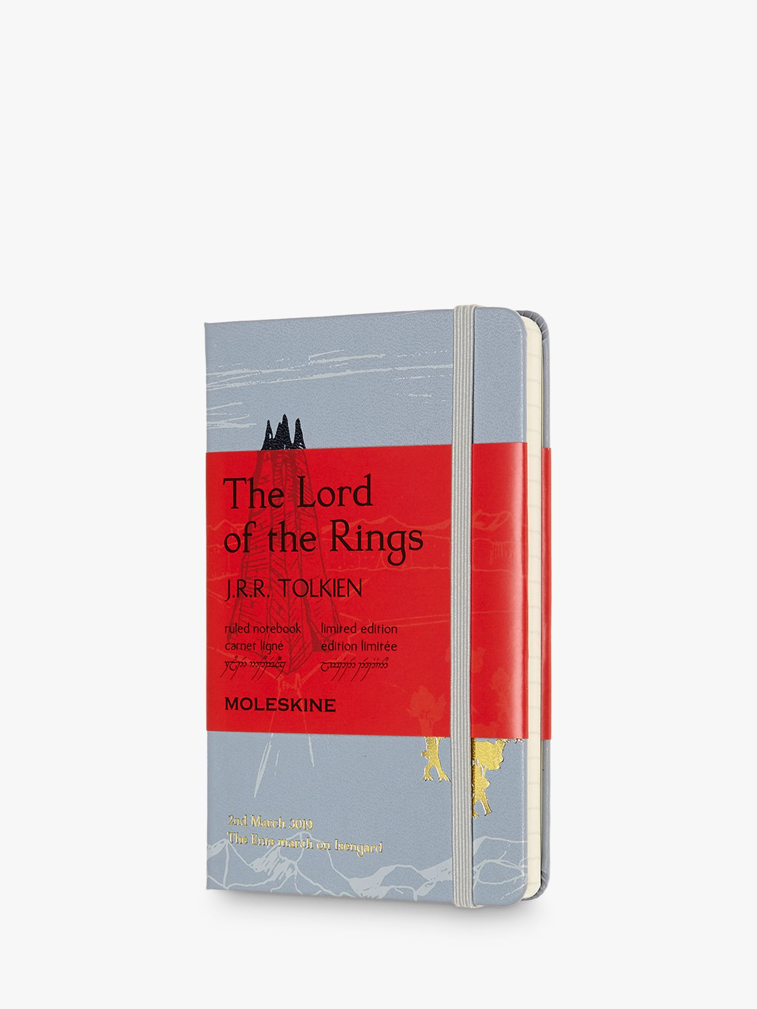 Moleskine Moleskine Lord of the Rings Isengard Pocket Ruled Notebook