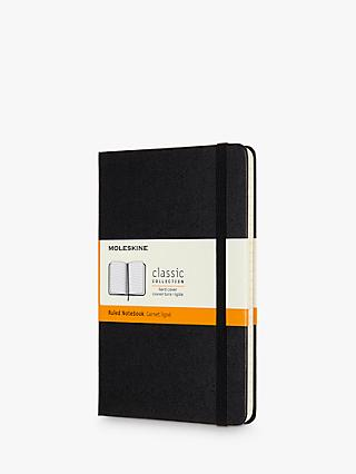Moleskine Medium Hardcover Ruled Notebook