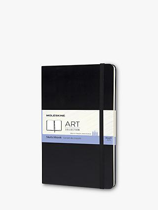 Moleskine Large Art Sketchbook, Black