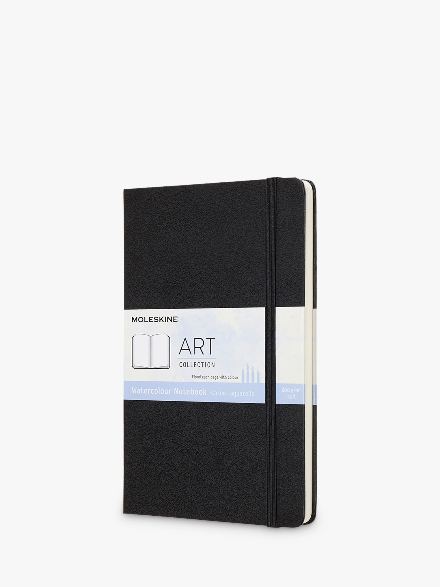 Moleskine Large Art Watercolour Sketchbook, Black