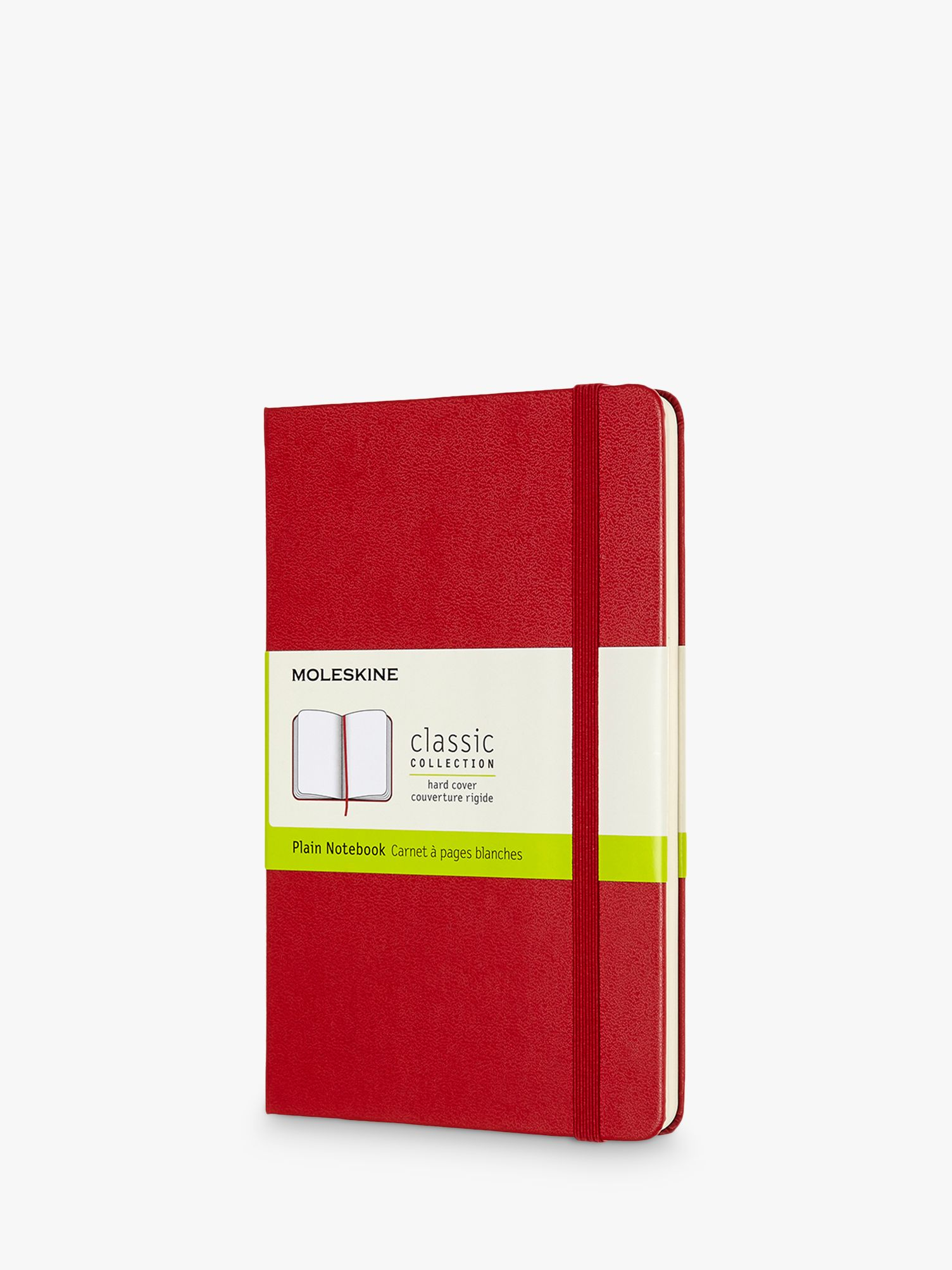 Moleskine Moleskine Medium Hardcover Plain Notebook
