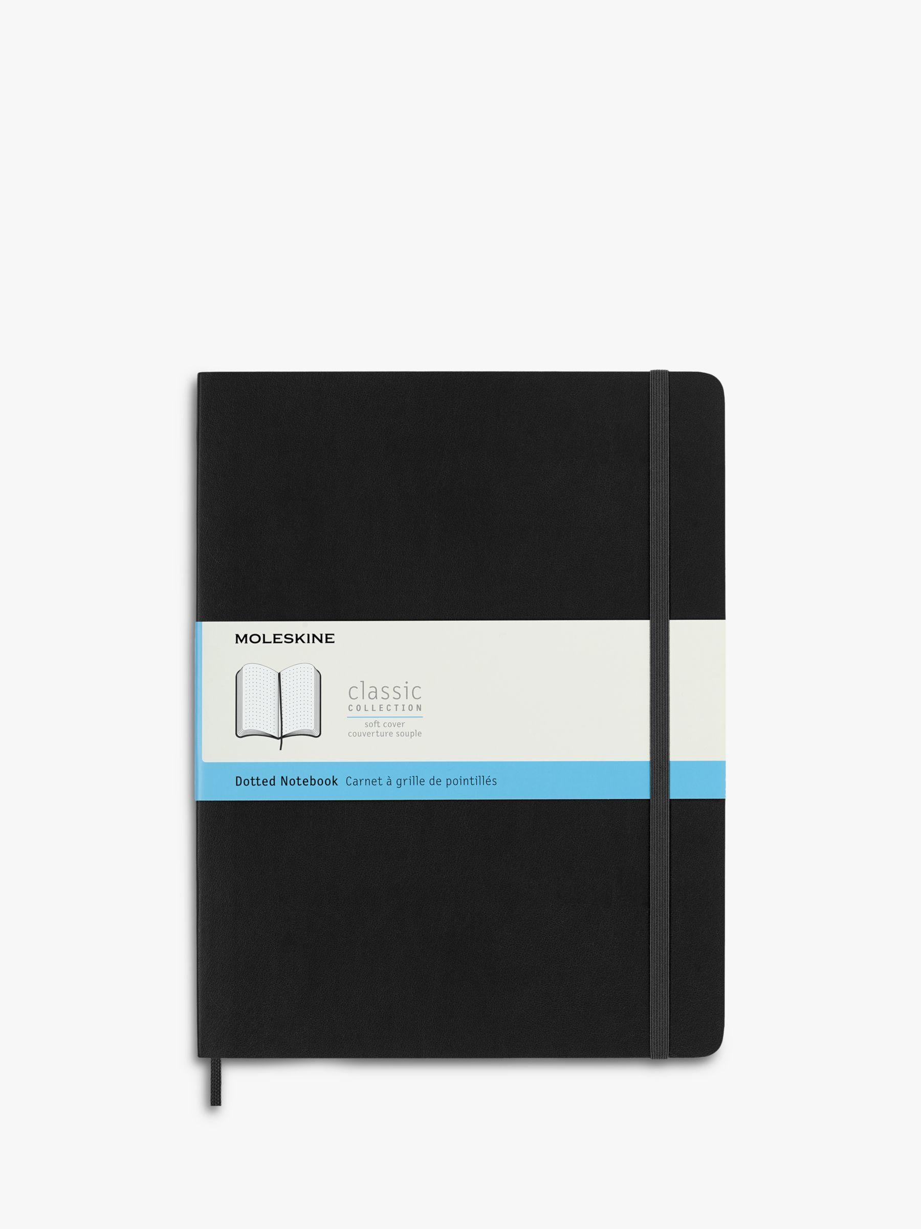 Moleskine Moleskine Extra Large Dotted Soft Cover Notebook, Black