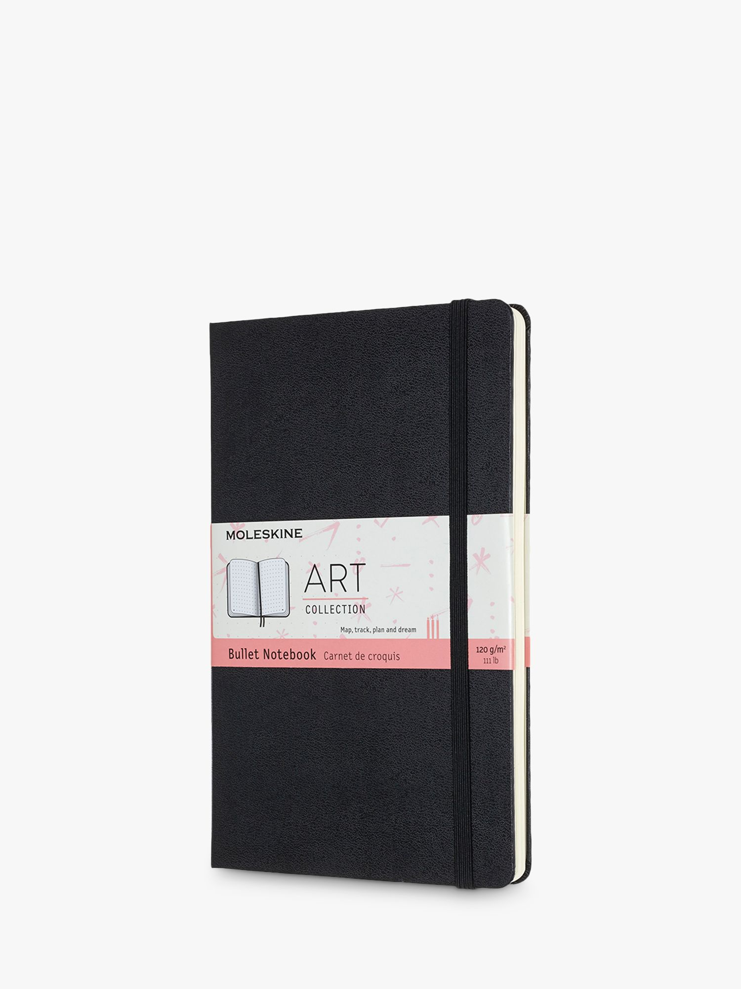 Moleskine Large Art Bullet Notebook, Black