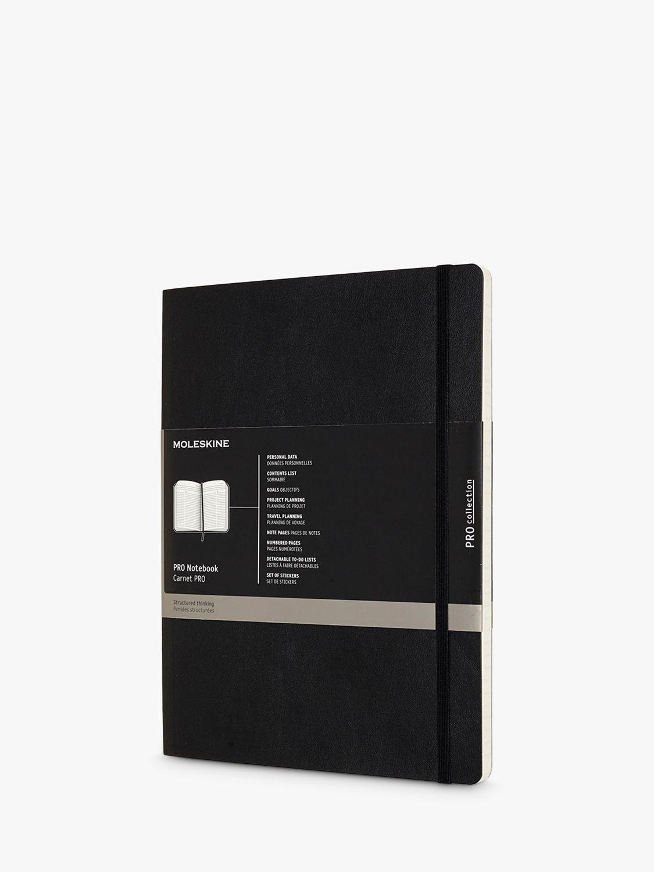 Moleskine Moleskine Extra Large Soft Cover Pro Notebook, Black