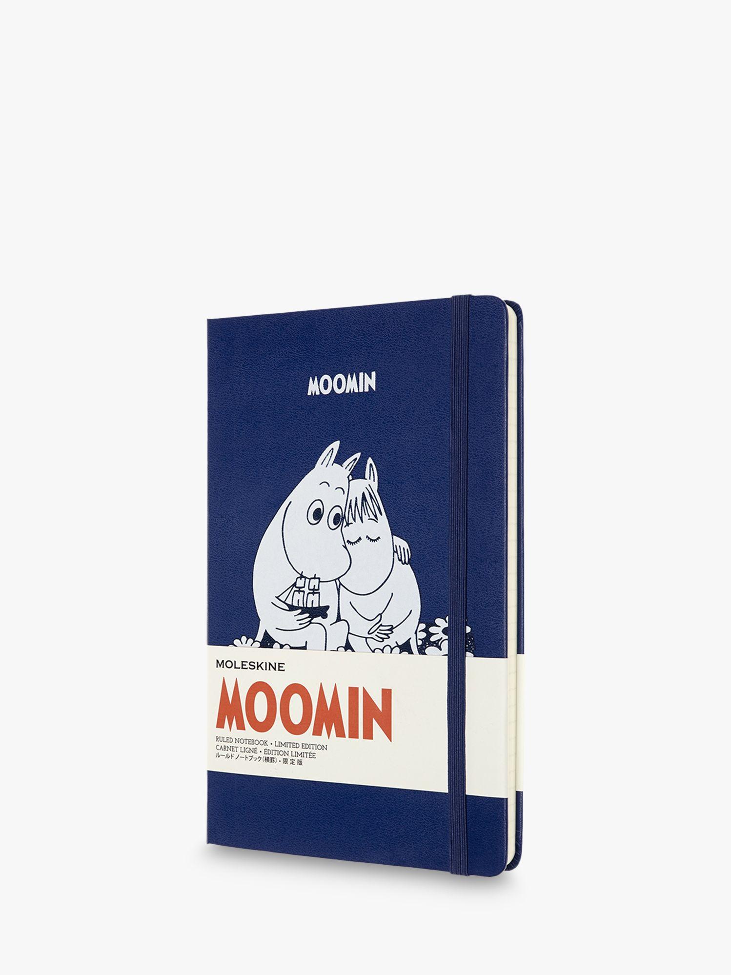 Moleskine Moleskine Large Le Moomin Ruled Notebook, Blue