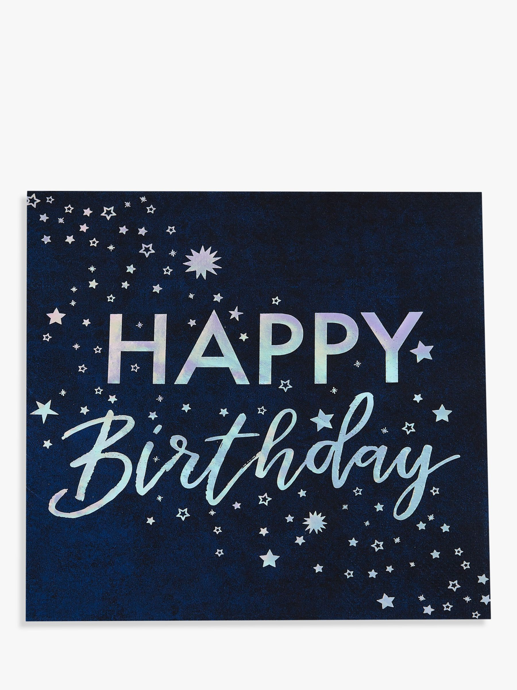 Ginger Ray Ginger Ray Cosmic Birthday Disposable Napkins, Pack of 16