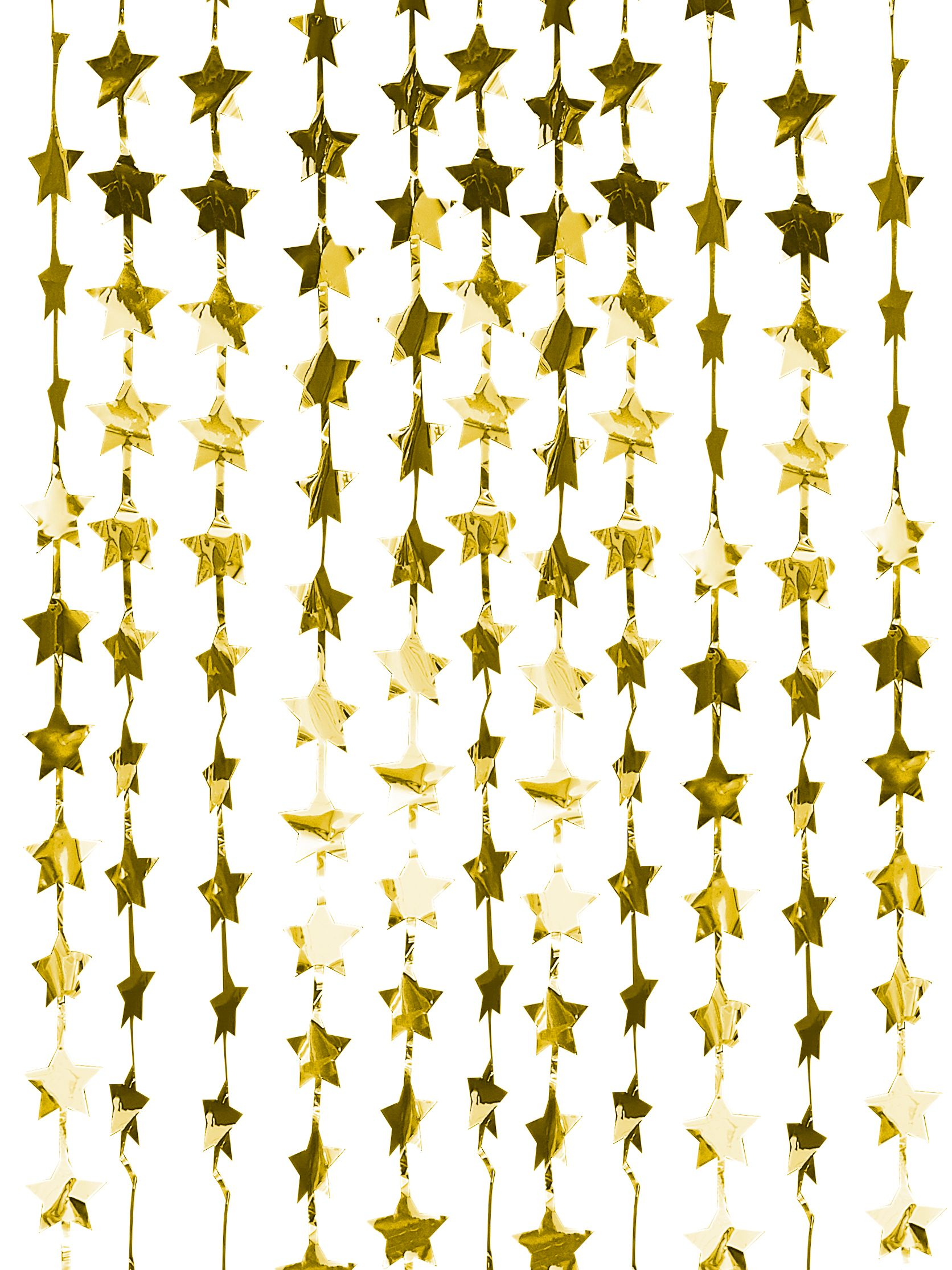 Ginger Ray Ginger Ray Gold Star Backdrop Curtain