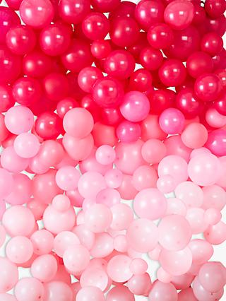 Ginger Ray Pink Ombre Balloon Wall