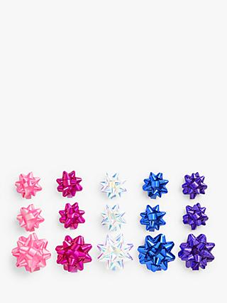 John Lewis & Partners Party Gift Bows, Pack of 15