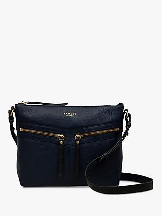 7a44e59782 Radley Smith Street Leather Medium Cross Body Bag