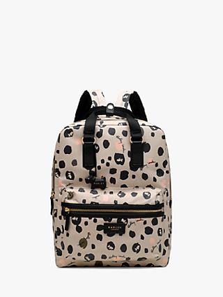 Radley Bubble Dog Large Backpack, Ash Grey