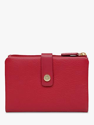 Radley Larks Wood Leather Medium Bi-Fold Purse