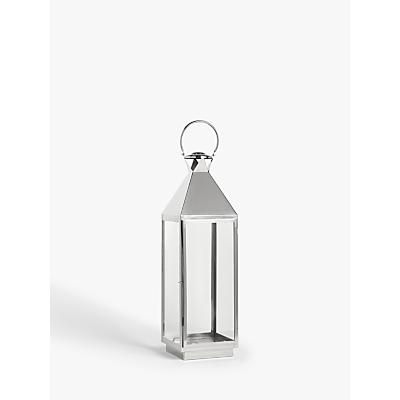 John Lewis & Partners Square Lantern Candle Holder, H87 cm