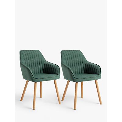 John Lewis & Partners Toronto Dining Armchairs, Set of 2