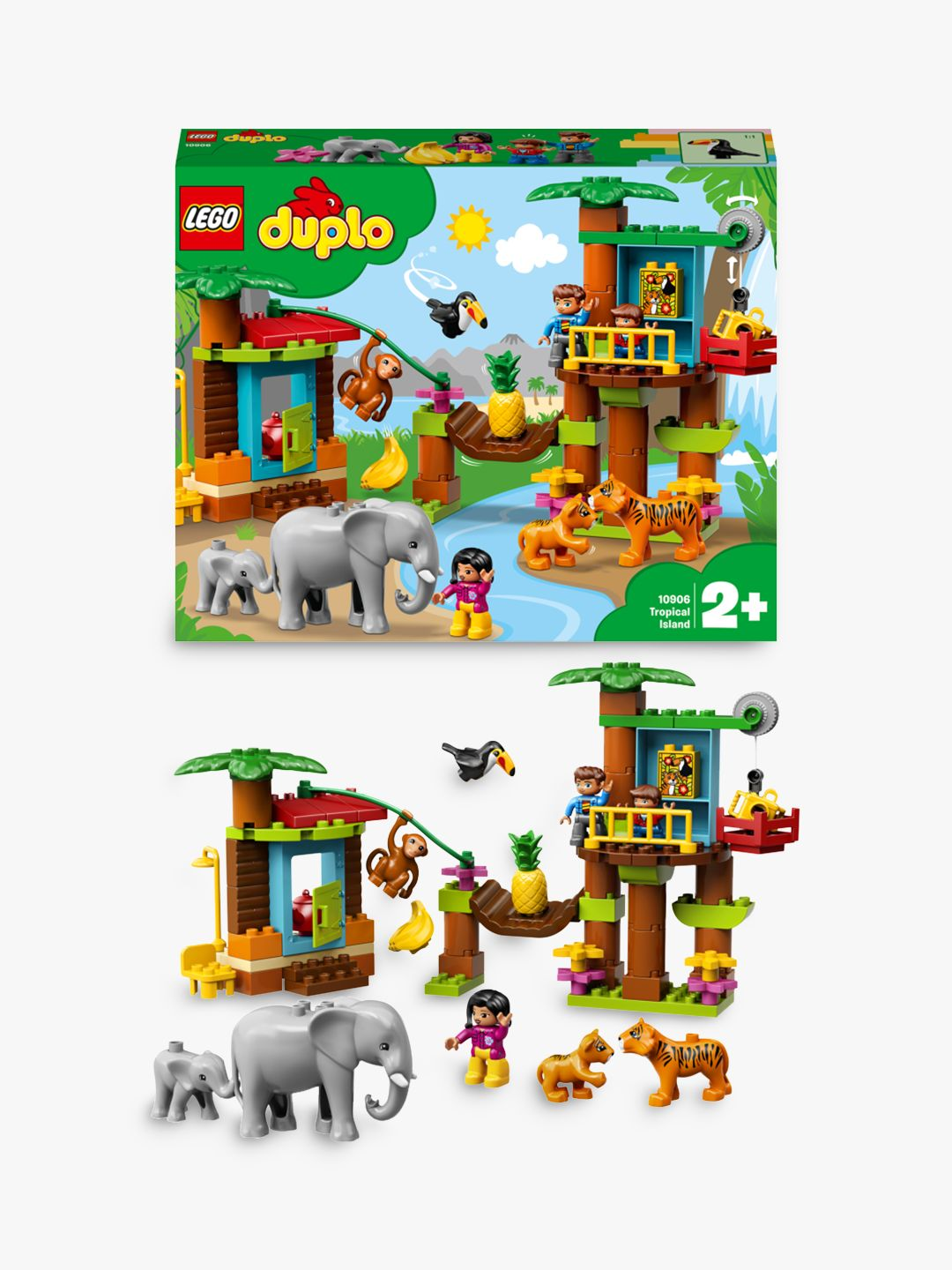 Buy LEGO DUPLO 10906 Tropical Island Town Online at johnlewis.com
