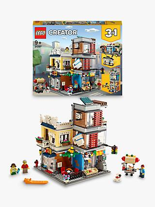 LEGO Creator 31097 3-in-1 Townhouse Pet Shop & Café