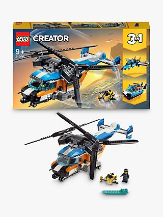 LEGO Creator 31096 3-in-1 Twin Rotor Helicopter