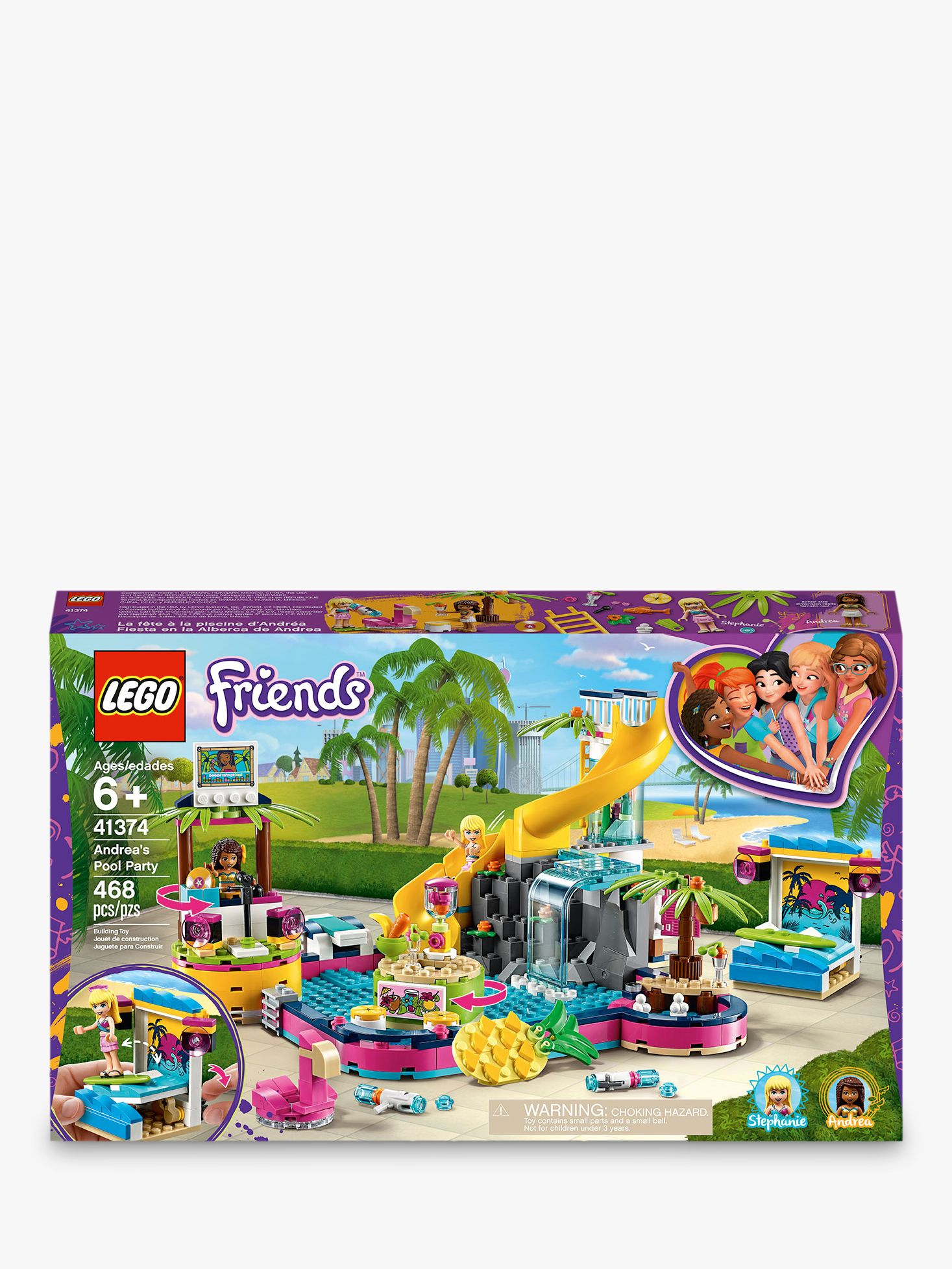 Lego LEGO Friends 41374 Andrea's Pool Party