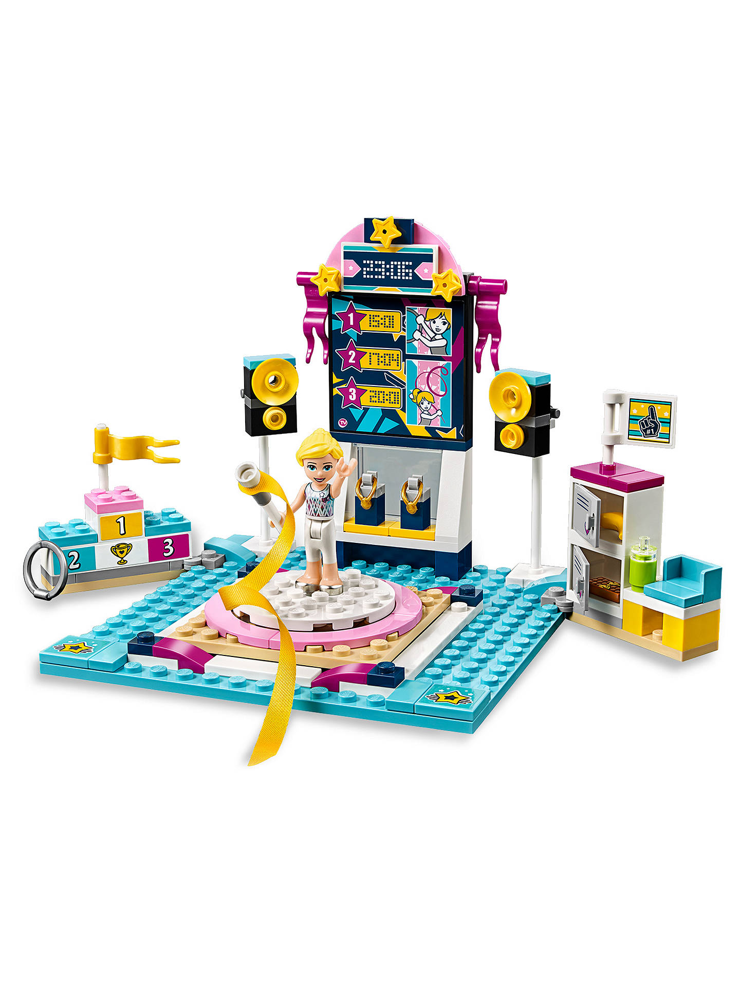 Lego Friends Christmas Sets.Lego Friends 41762 Stephanie S Gymnastics Show