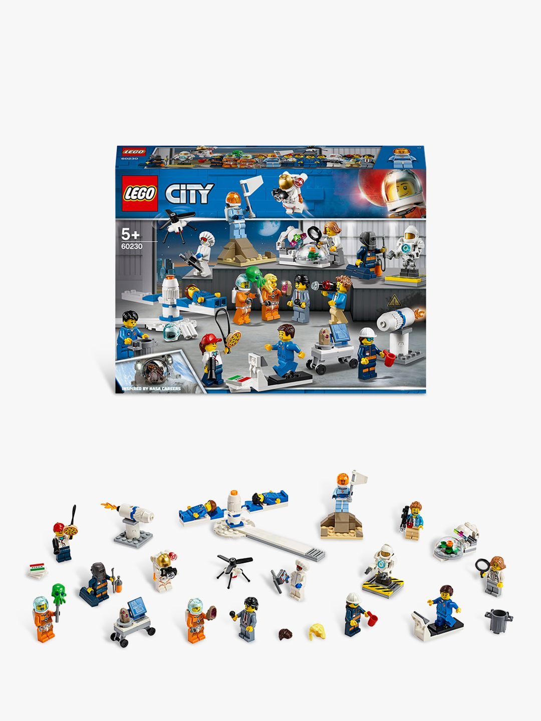 Buy LEGO City 60230 Space Research & Development People Pack Online at johnlewis.com