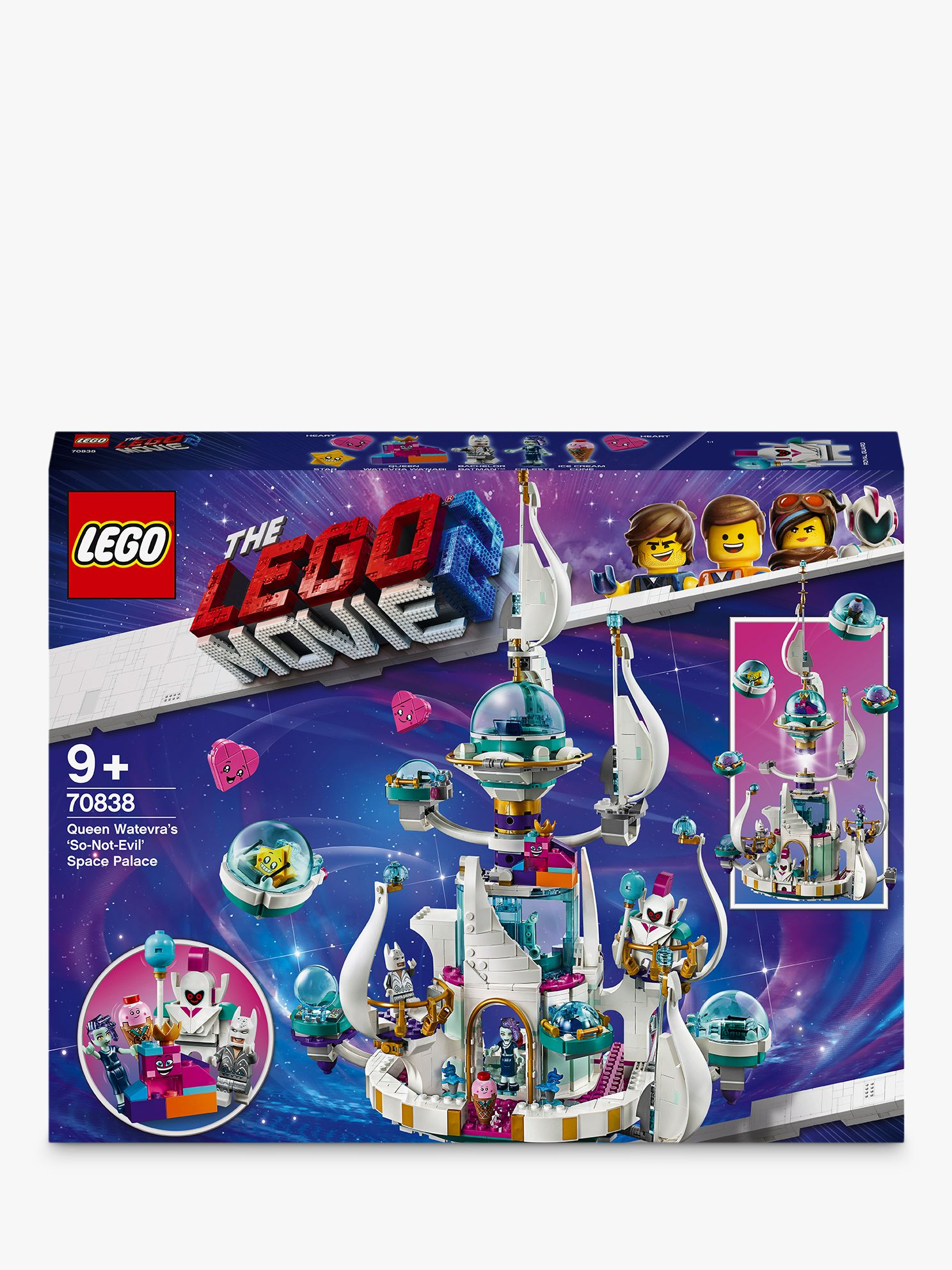 Lego LEGO THE LEGO MOVIE 2 70838 Queen Watevra's 'So-Not-Evil' Space Palace