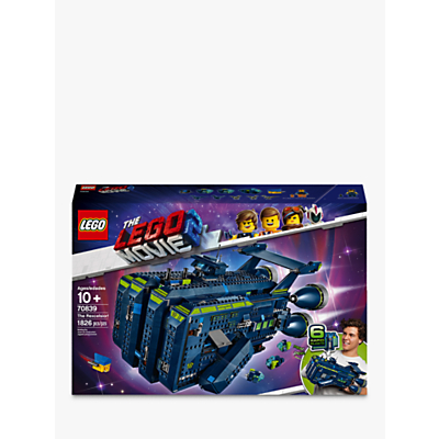 LEGO THE LEGO MOVIE 2 70839 The Rexcelsior Spaceship