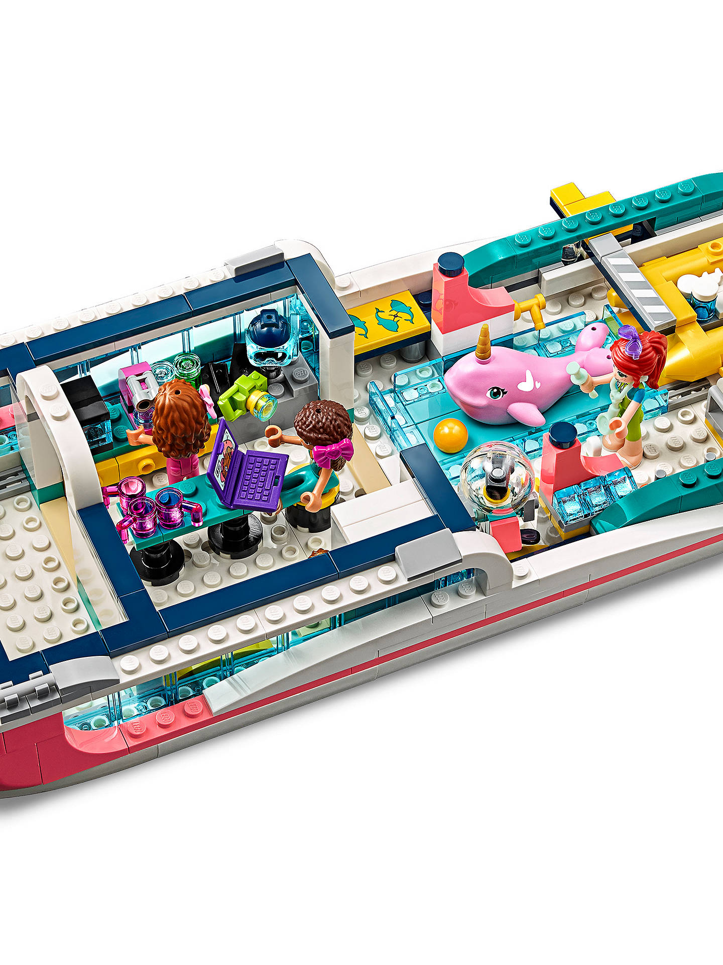 LEGO Friends 41381 Rescue Mission Boat at John Lewis ...