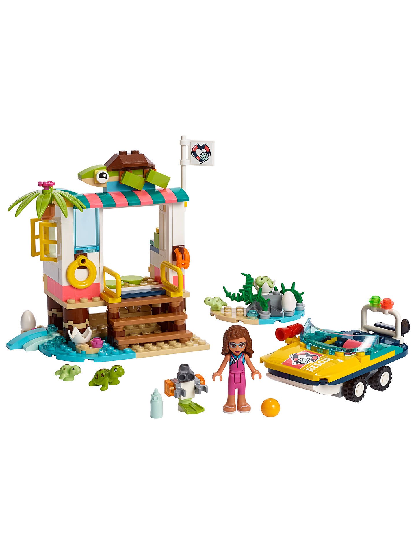 LEGO Friends Mission Boat Set 41376