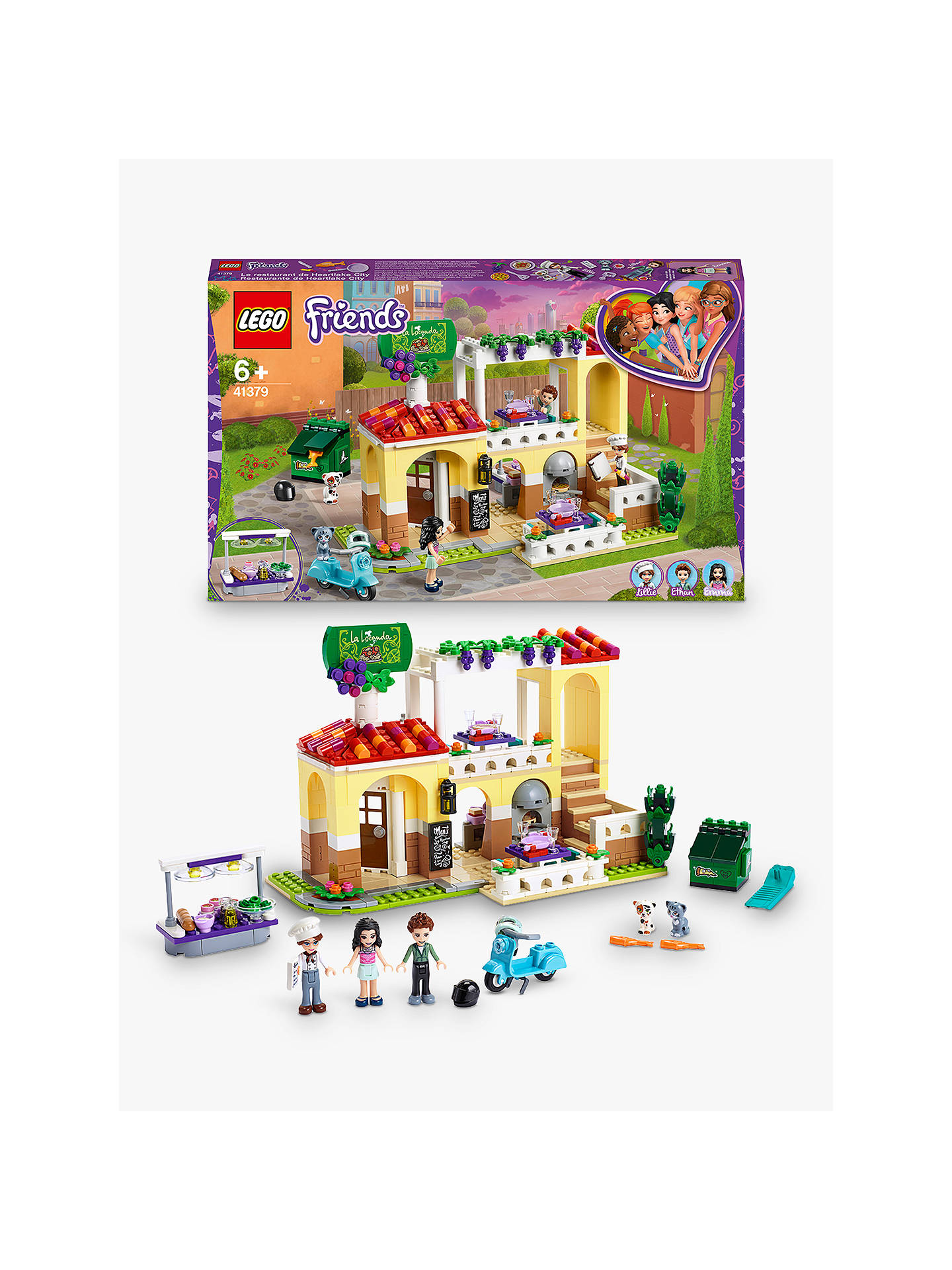 LEGO Friends 41379 Heartlake City Pizzeria Restaurant