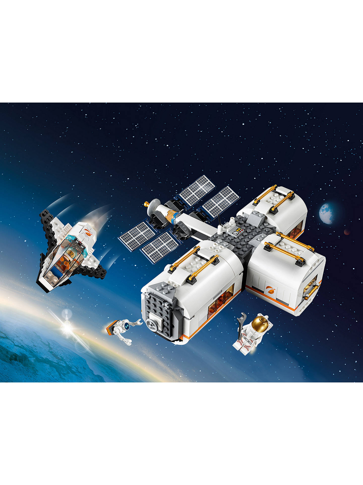 LEGO CITY 60227 LUNAR SPACE STATION BRAND NEW IN BOX FOR AGES 6 YEARS