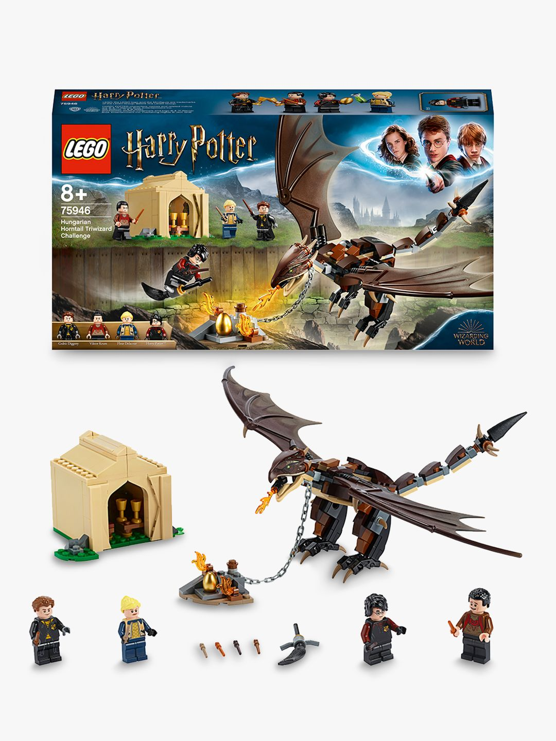 Lego LEGO Harry Potter 75946 Hungarian Horntail Dragon Triwizard Challenge