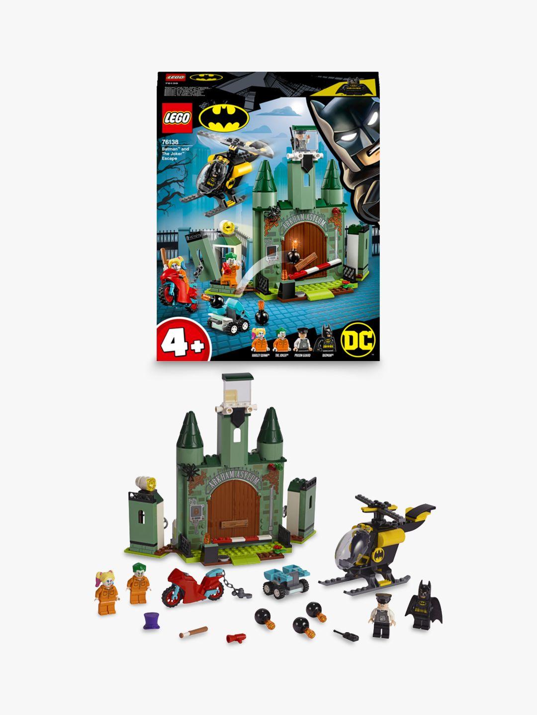 Lego LEGO DC Batman 76138 Batman and The Joker Escape