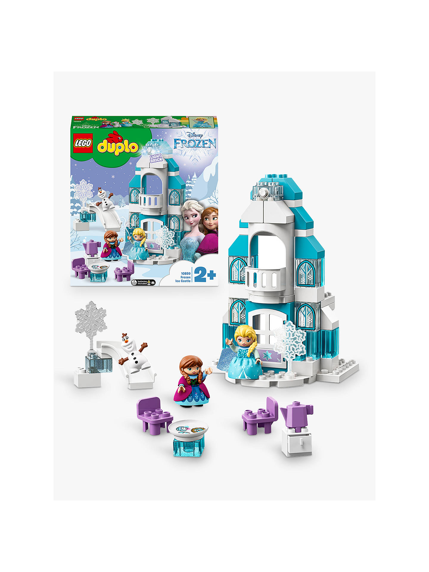 Lego Duplo 10899 Frozen Ice Castle At John Lewis Amp Partners