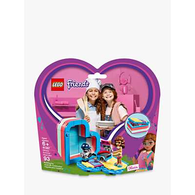 LEGO Friends 41387 Olivias Summer Heart Box